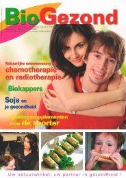 Infoblad over Gezond Leven - 5de jaargang - nummer 1 - BioGezond