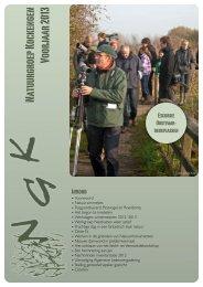Nieuwsbrief voorjaar 2013 - Natuurgroep Kockengen