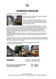 JULEMARKED I GOSLAR 2008 - Larsen Hotel & Kro