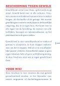 BESCHERMING TEGEN GEWELD - Huiselijk Geweld - Page 3