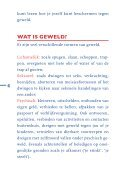 BESCHERMING TEGEN GEWELD - Huiselijk Geweld - Page 4
