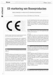CE-markering Bouwbesluit2011 - Dumebo DWS