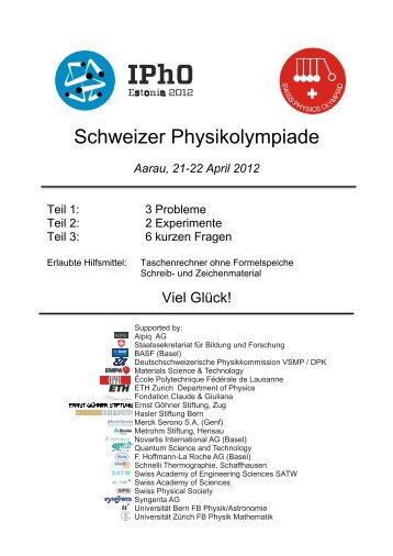 Theorie 2012 - SwissPhO