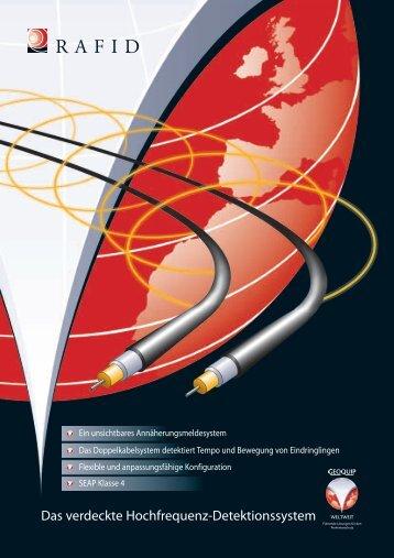 Das verdeckte Hochfrequenz-Detektionssystem - Geoquip
