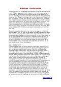 Deltagernes Rejsebeskrivelser - Ridetrek i Andalusien - Page 5