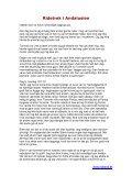 Deltagernes Rejsebeskrivelser - Ridetrek i Andalusien - Page 7
