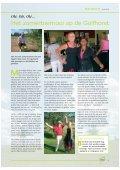 Clubblad Golfhorst Herfst 2010 - Golfvereniging Golfhorst - Page 6