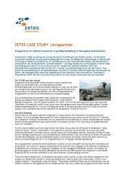 ZETES CASE STUDY |Aviapartner