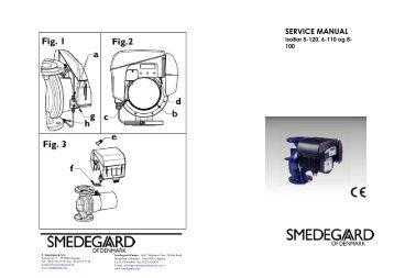 Isobar servicemanual 5-120/6-110/8-100 - Smedegaard