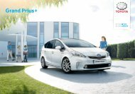 Grand Prius Plus brochure - Toyota