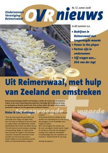 Uit Reimerswaal, met hulp van Zeeland en omstreken