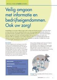 Veilig omgaan met informatie en ... - Isala Academie