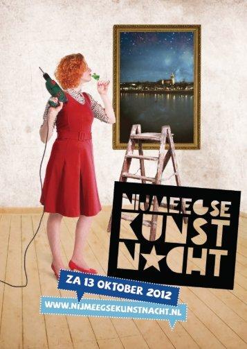 Programmaboekje - Nijmeegse Kunstnacht