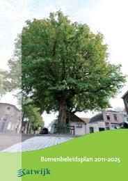 2011-17581 bijlage Bomenbeleidsplan 1e ... - Gemeente Katwijk