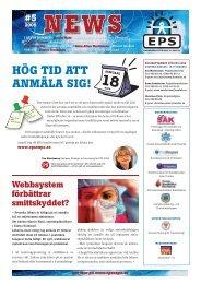Läs nyhetsbrev nr. 5 - Svenska Mässan