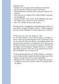VæRD AT VIDE OM ALLERGIVACCINATION - Callnet - Page 6