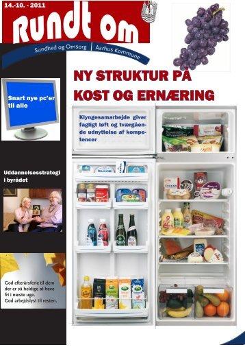 NY STRUKTUR PÅ KOST OG ERNÆRING - Aarhus.dk