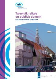 Tweeluik religie en publiek domein - Polarisatie en Radicalisering