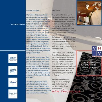 newsletter 8 winter 2007 - VHV Hotels