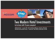 Let to Accor with 12 years unexpired