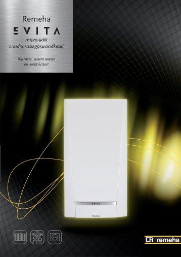 micro-wkk condensatiegaswandketel - Remeha