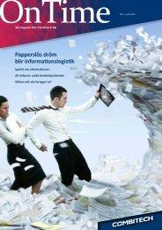 OnTime nr 2 2012 - Combitech.se
