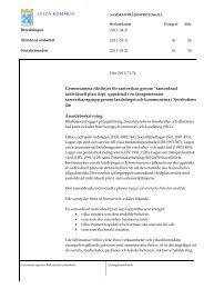 Gemensamma riktlinjer för samverkan genom ... - Luleå kommun