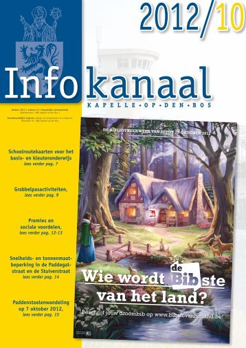 files/Infokanaal 2012-10.pdf - Gemeente Kapelle-op-den-Bos