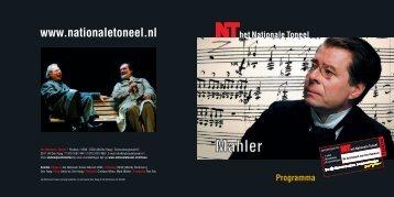 HNT121-4 WTK programma Mahler - COSTIAAN