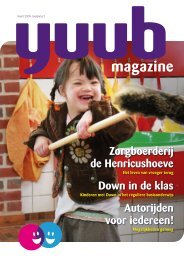 YUUB Magazine maart 2009 - Kees van der Eijk