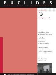 83-3 - Nederlandse Vereniging van Wiskundeleraren