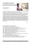 le dossier de presse pour Antoine Bono & Maximilien Musetti - Page 4