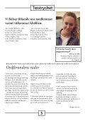 En tidning för oss inom Täby Hundsällskap. Nr 1/2013 - Page 5