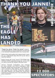 THANK YOU JANNE! THE EAGLE HAS LANDED - Lahti