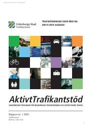 Aktivt Trafikantstöd - Göteborg