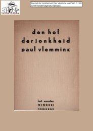 Paul Vlemminx -Den Hof der Jonkheid - Cubra