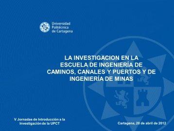 Escuela de Ingeniería de Caminos, Canales y Puertos y de ...