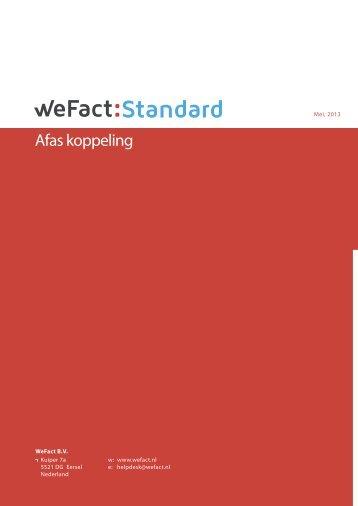 Standard - WeFact