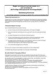 Tilskud til lokaler - Sønderborg Kommune