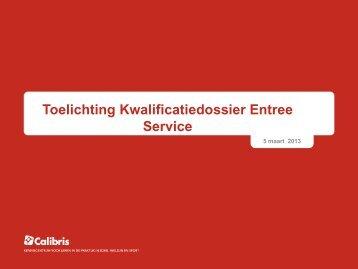 Presentatie door Praktijkschool 't Genseler - MBO diensten