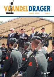 70 jaar GFPI - Museum Brigade en Garde Prinses Irene