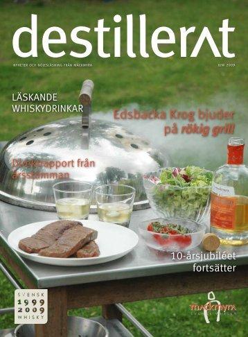 Edsbacka Krog bjuder på rökig grill - Mackmyra