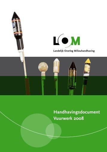 Handhavingsdocument vuurwerk 2008.pdf - Openbaar Ministerie