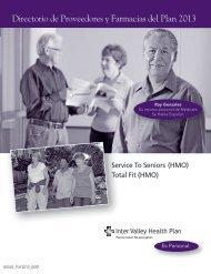 Directorio de Proveedores y Farmacias del Plan 2013 - Inter Valley ...