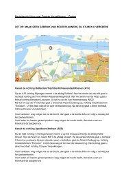 Routebeschrijving naar Conpax Verpakkingen – Druten LET OP ...