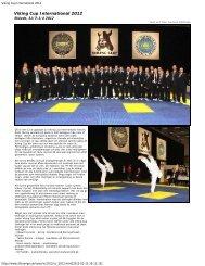 Viking Cup International 2012 - Swedish ITF Taekwon-Do Association