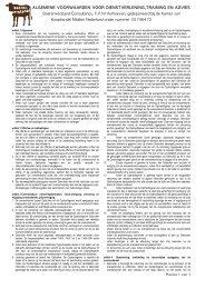 Algemene voorwaarden Boerenverstand Consultancy
