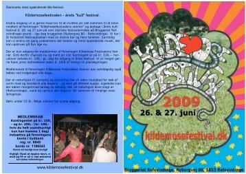 """Kildemosefestivalen - årets """"kult"""" festival. www.kildemosefestival.dk"""
