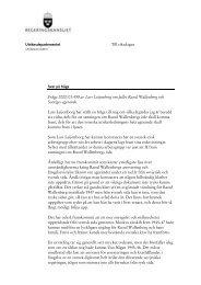 Till riksdagen Fråga 2000/01:499 av Lars Leijonborg om fallet Raoul ...