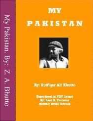 My Pakistan - Bhutto
